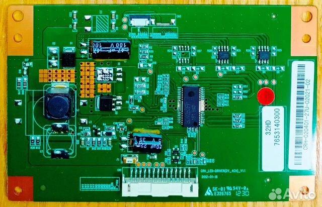 CRH LED-driver (DY 4CH) V1.1