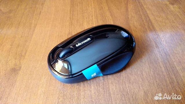 Мышь беспроводная Microsoft Sculpt Comfort черный