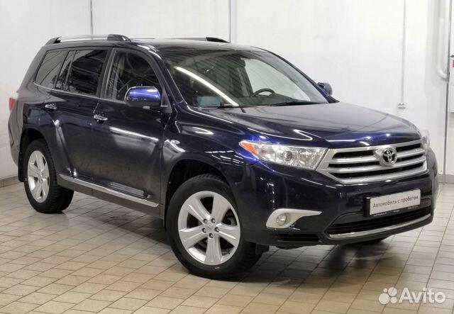 Toyota Highlander, 2013 купить 1