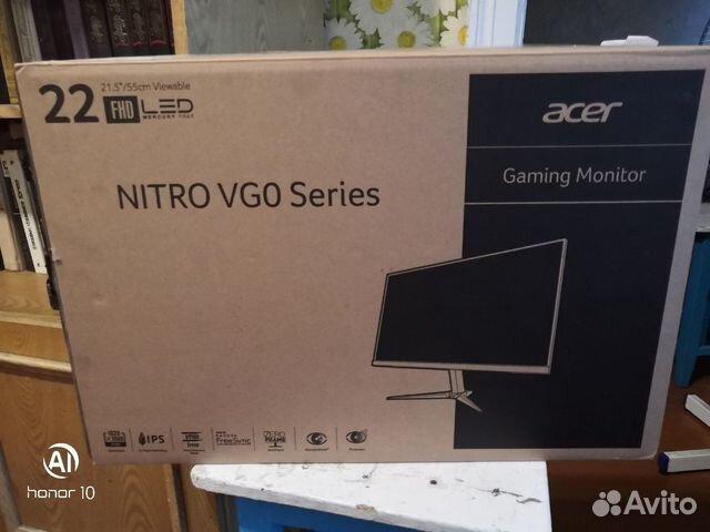 Acer Nitro VG220Qbmiix разбитый экран купить 3