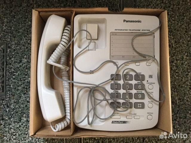 Телефон стационарный новый panasonic