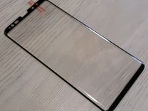Защитное стекло на SAMSUNG Note 9 чёрное