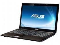 Asus X53U Процессор AMD С60 2 ядра 2гб