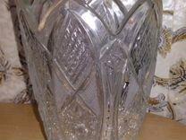 Хрустальные вазы, конфетницы, лодьи, ушаты