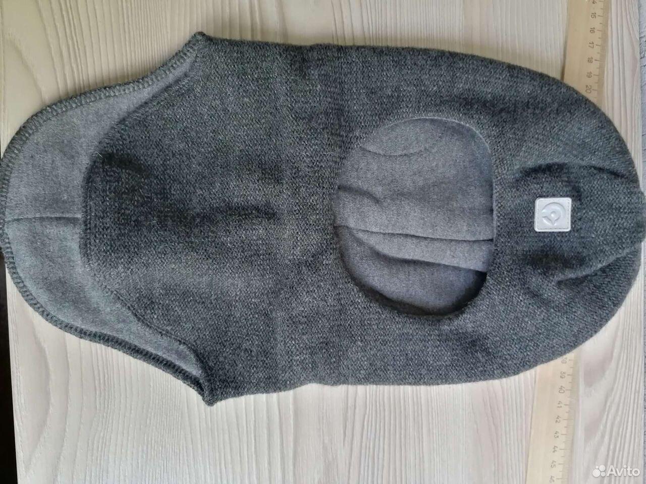 Шапка-шлем фирмы crockid, зимняя, размер 46-48  89085241242 купить 1