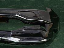 Обвес Modellista Lexus LX570, 2 трубы с 16г черный
