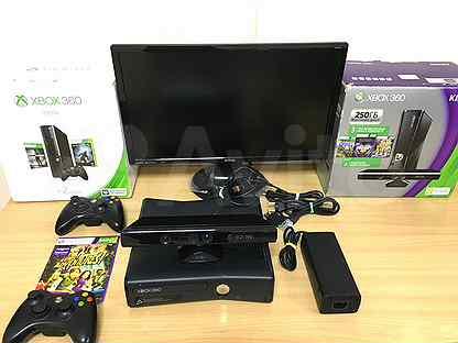 Xbox 360 S freeboot с кучей игр, комплект.Гарантия
