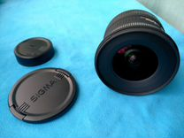 Sigma 10-20mm для Nikon
