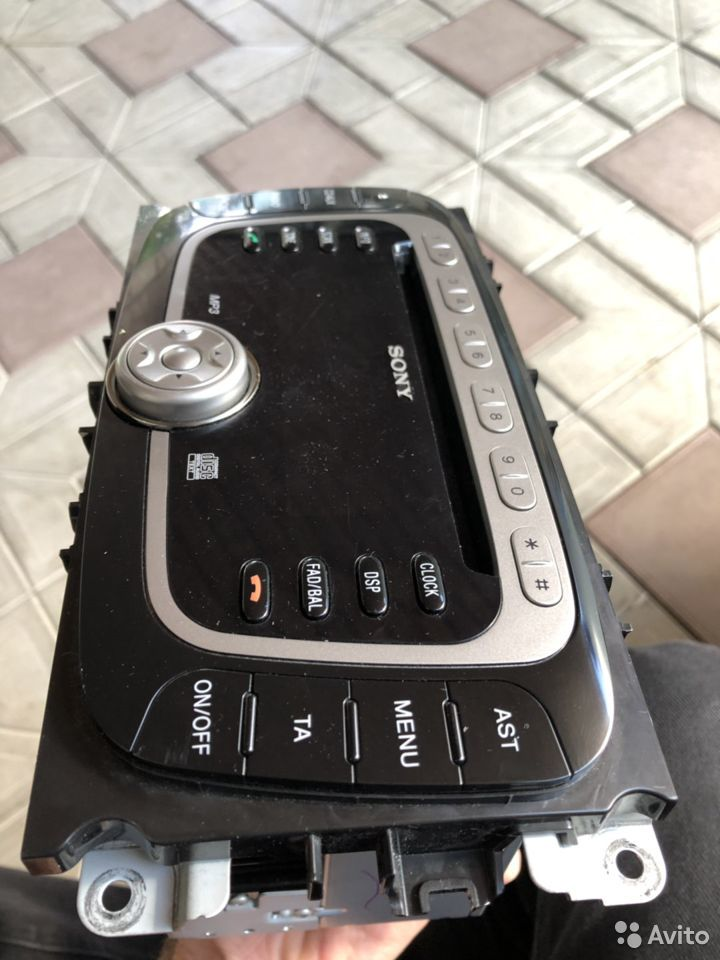 Штатная мультимедиа Sony Ford Mondeo, Focus  89280276348 купить 2