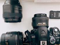 Nikon d5300 + объективы