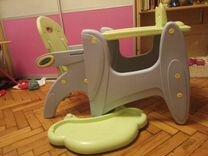 Стул для кормления трансформер capella — Товары для детей и игрушки в Санкт-Петербурге