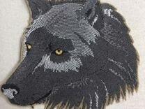 Волк нашивка