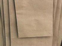 Крафт пакет с ручкой