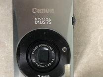 Canon digital ixus 75 С зарядкой