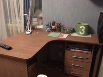 Стол компьютерный с полками