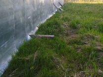 Забор б/у строительный