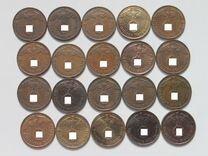 Германия 3 Рейх 1,2,5,10 пфеннигов 1937-1943