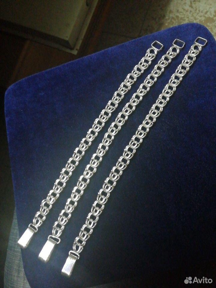 Серебряные браслеты Bismark 925 пробы. Новые от  89118641255 купить 7