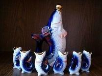 Набор фарфоровых рыбок