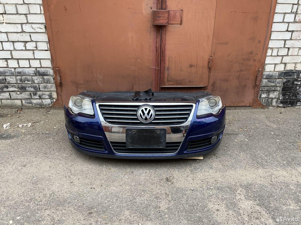 Ноускат синий Volkswagen Passat B6  89534684247 купить 1