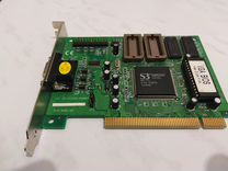 PCI VGA-65MP2 S3 PCI trio64V2/DX 86C775 высокое ка