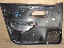 Обшивка двери П/П VW Polo Sedan