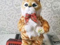 Новый рыжий музыкальный кот Ловелас