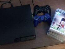 Приставка Sony PlayStation 3 (черный)