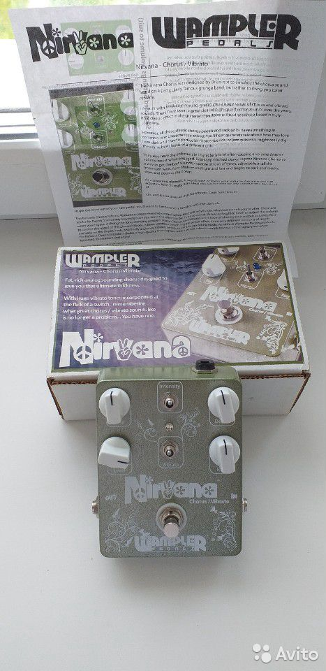 Wampler Nirvana Chorus  89095511958 купить 3