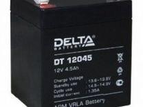 Аккумулятор 4.5ah 12v delta