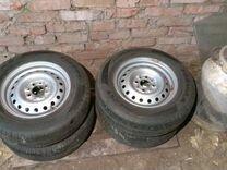 Новые колеса на ваз R13 4x98