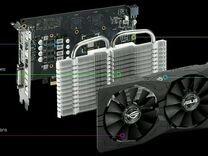 Видеокарта asus ROG strix-RX460-O4G-gaming 4Гб