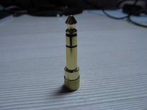 Переходник jack 6.3 мм-jack 3.5 мм