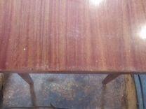 Стол из цельного дерева