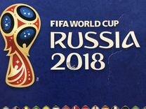Наклейки fifa World Cup Russia 2018 Panini