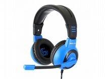 Игровые гарнитуры Gembird MHS-G50 черно-синие