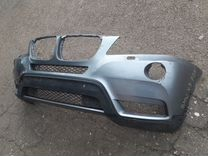Bmw x3 f25 бампер передний б/у оригинал