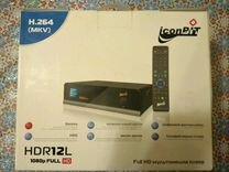Мощный Медиацентр Iconbit HDR12L
