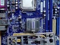 Материнская плата сокет 775 Foxconn (G31,DDR2)