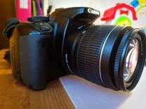 Зеркальный фотоаппарат Canon EOS 400D + EF-S 18-55