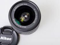 Объектив Nikon AF-P 18-55mm f/3.5-5.6 DX бу