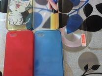 Чехлы и защитное стекло на iPhone 5, 5s