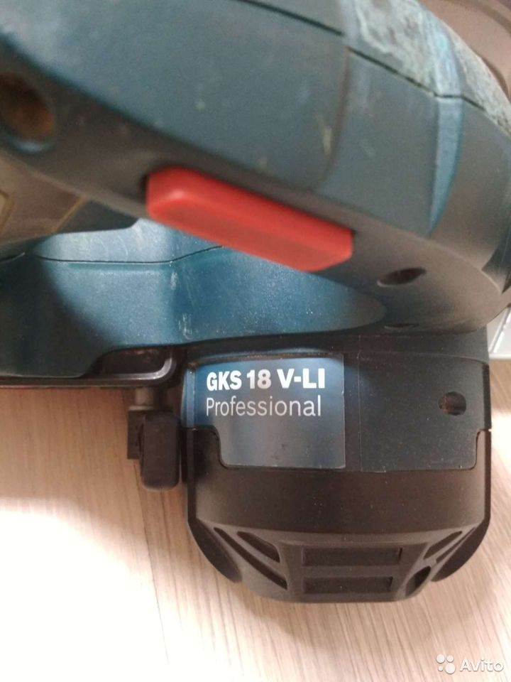 Аккумуляторная дисковая пила bosch gks 18v  89613474757 купить 6