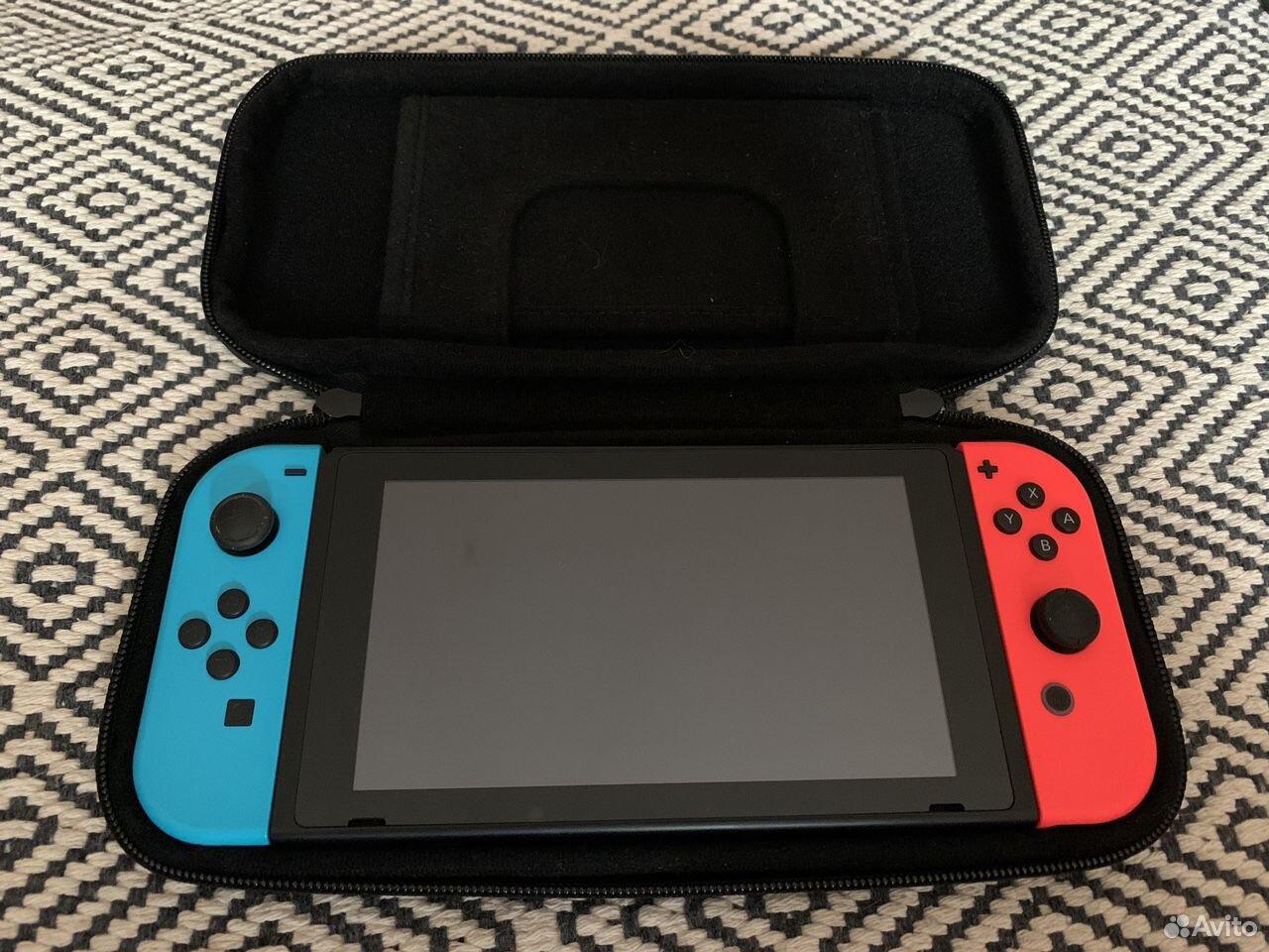 Nintendo Switch 2-ой ревизии  89222551399 купить 3