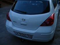 Фаркоп для Nissan Tiida хетчбек