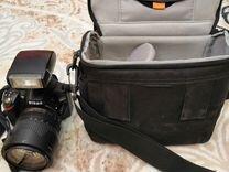 Зеркальный фотоаппарат nikon D3200 kit+18-105VR