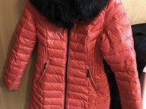 Пальто пух.зима