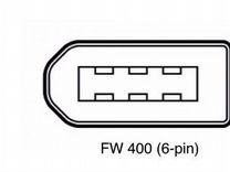 FireWire кабель 800-400 9-6pin 3мет Новый Ieee1394