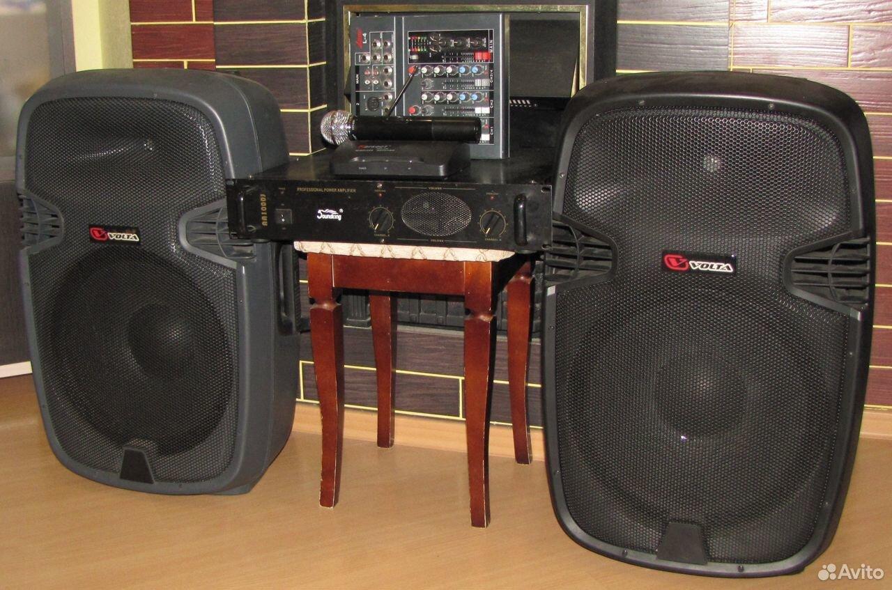 Колонки Volta 700W D15 усилитель микшер микрофон  89128899109 купить 10